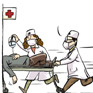 确诊迅速住院